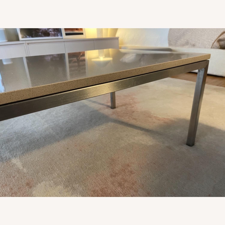 Room & Board Portica Coffee Table with Fog Quartz - image-4