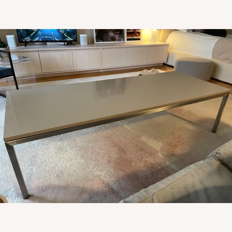 Room & Board Portica Coffee Table with Fog Quartz - image-6
