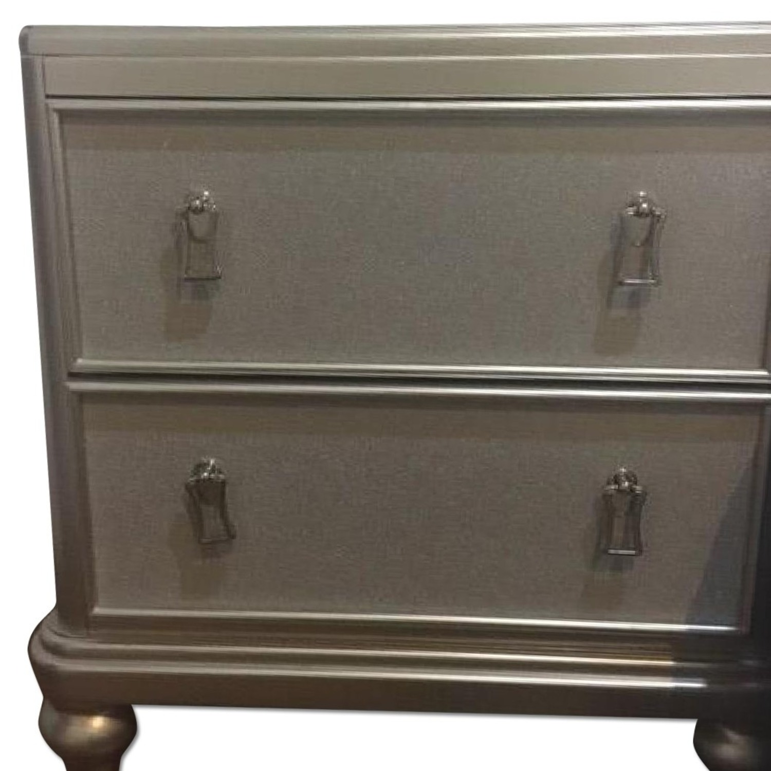 Bob's Discount Furniture Silver Nightstand - image-6