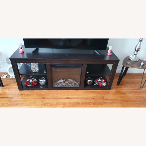 Used Media Console Fireplace for sale on AptDeco