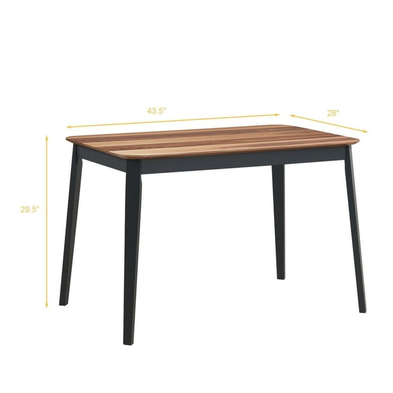 Mid Century Modern Dining Room Table - image-2