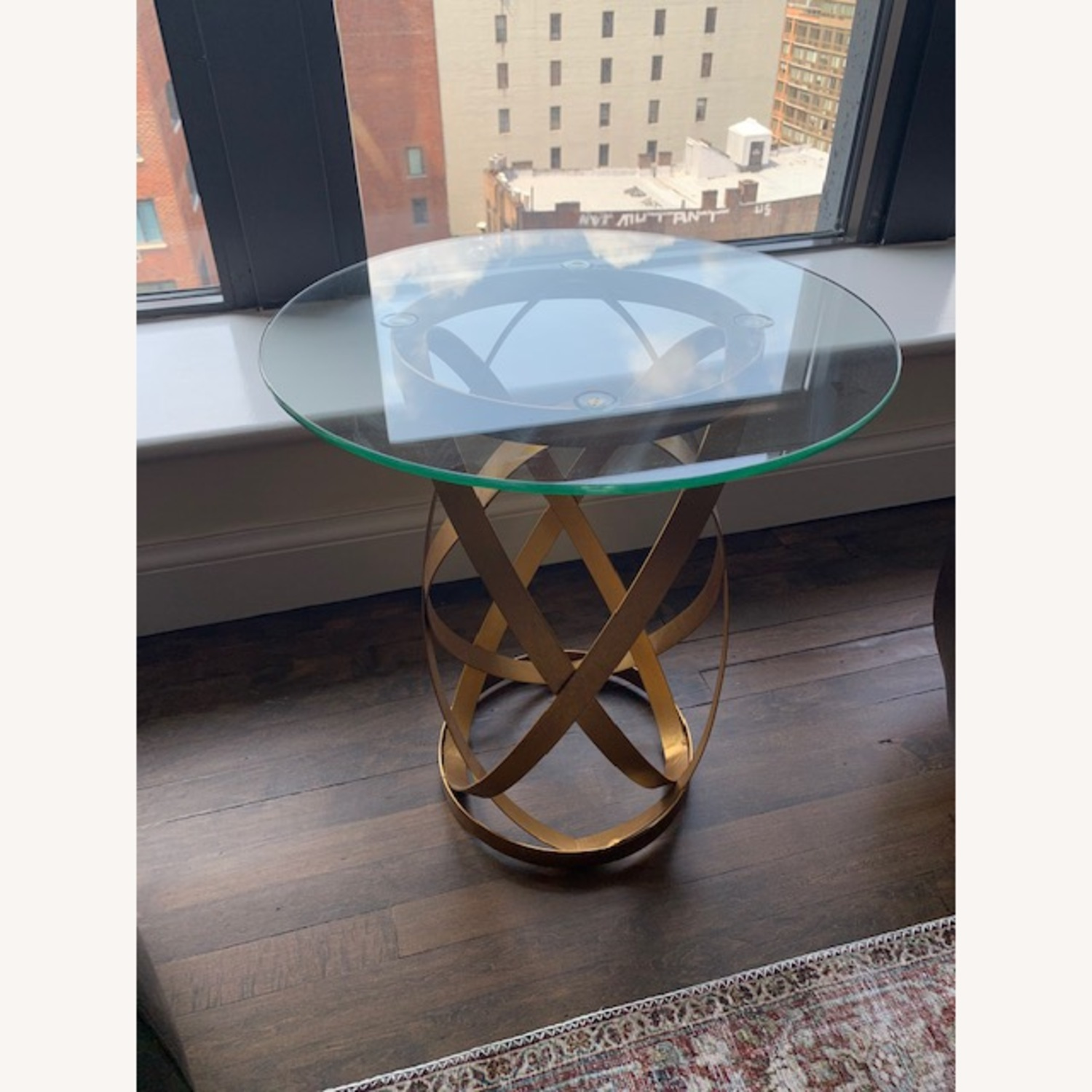 Glass Topped Table - image-2