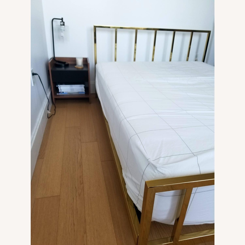 CB2 Alchemy Bronze Full Bed - image-3