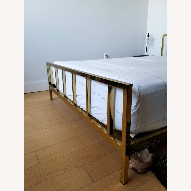 CB2 Alchemy Bronze Full Bed - image-4
