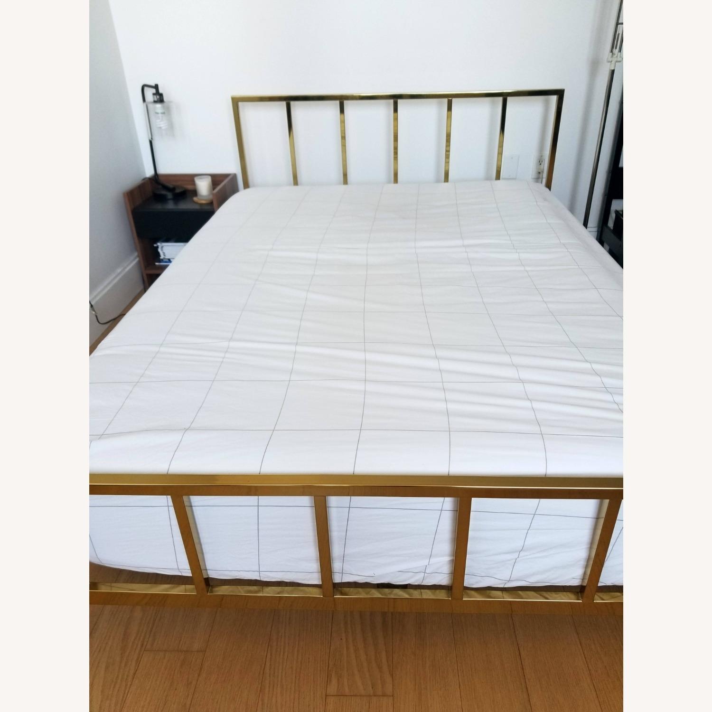 CB2 Alchemy Bronze Full Bed - image-1