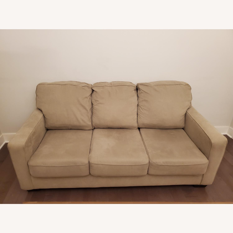 Ashley Furniture Queen Sleeper Sofa - image-1