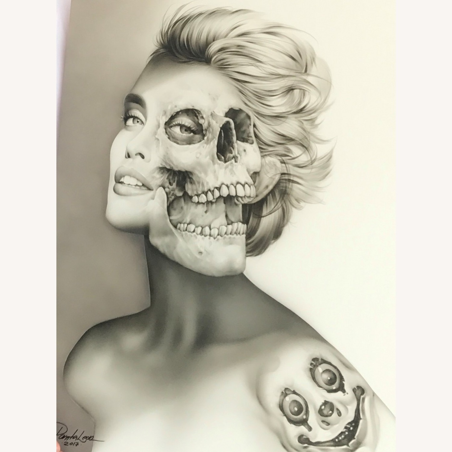 AirBrush Paint - Two Faced Women - image-2