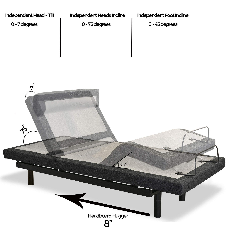Adjustable Base Bed - Split King - Sven & Son - image-3