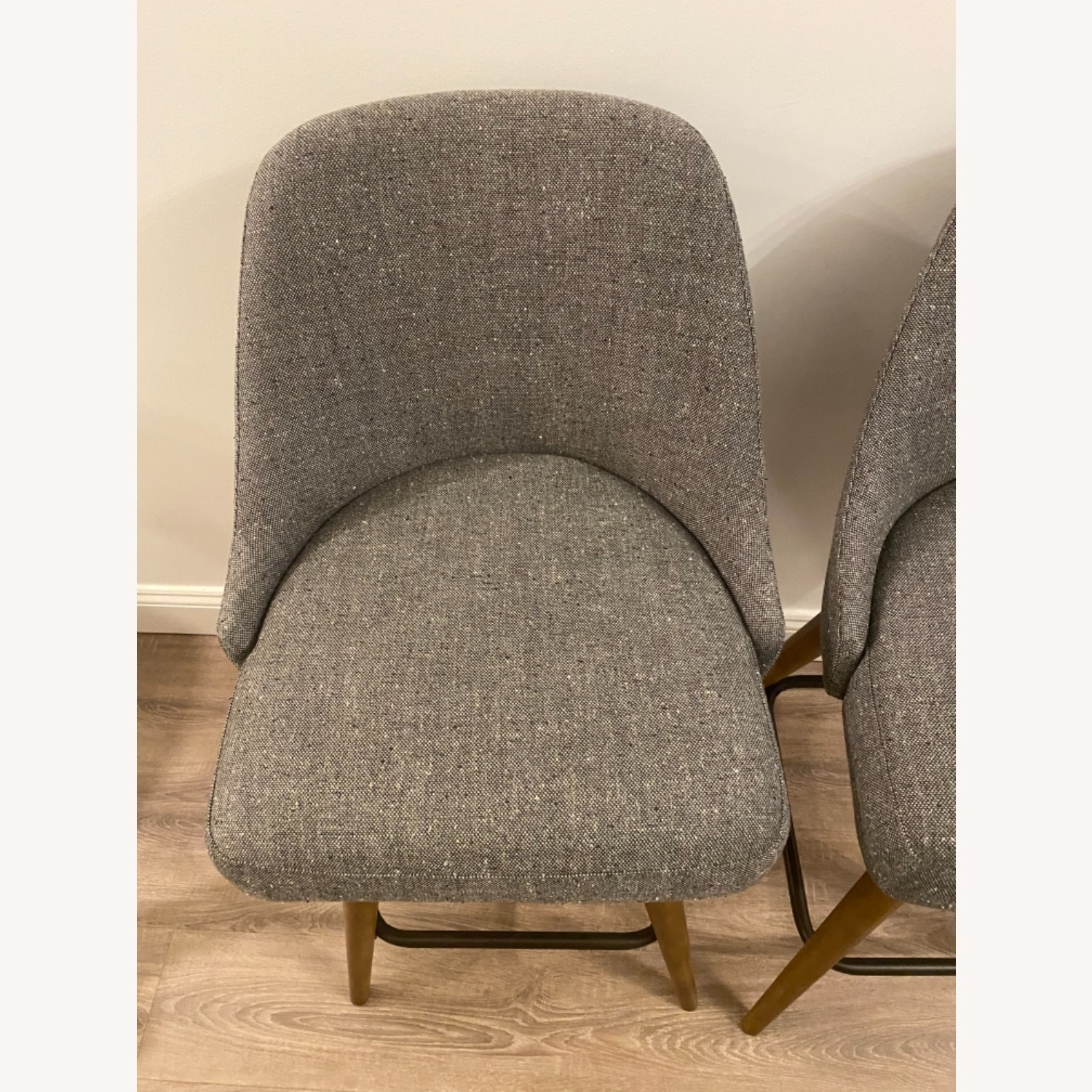 West Elm Upholstered Counter Stools - image-7