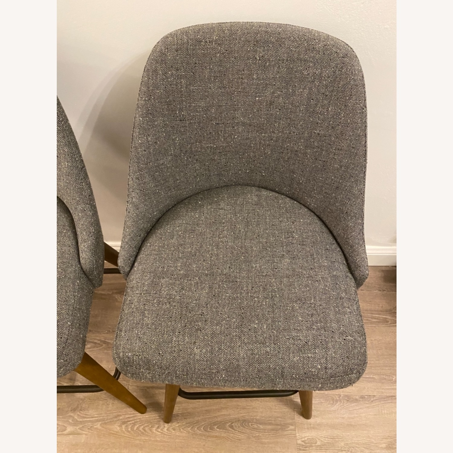 West Elm Upholstered Counter Stools - image-8