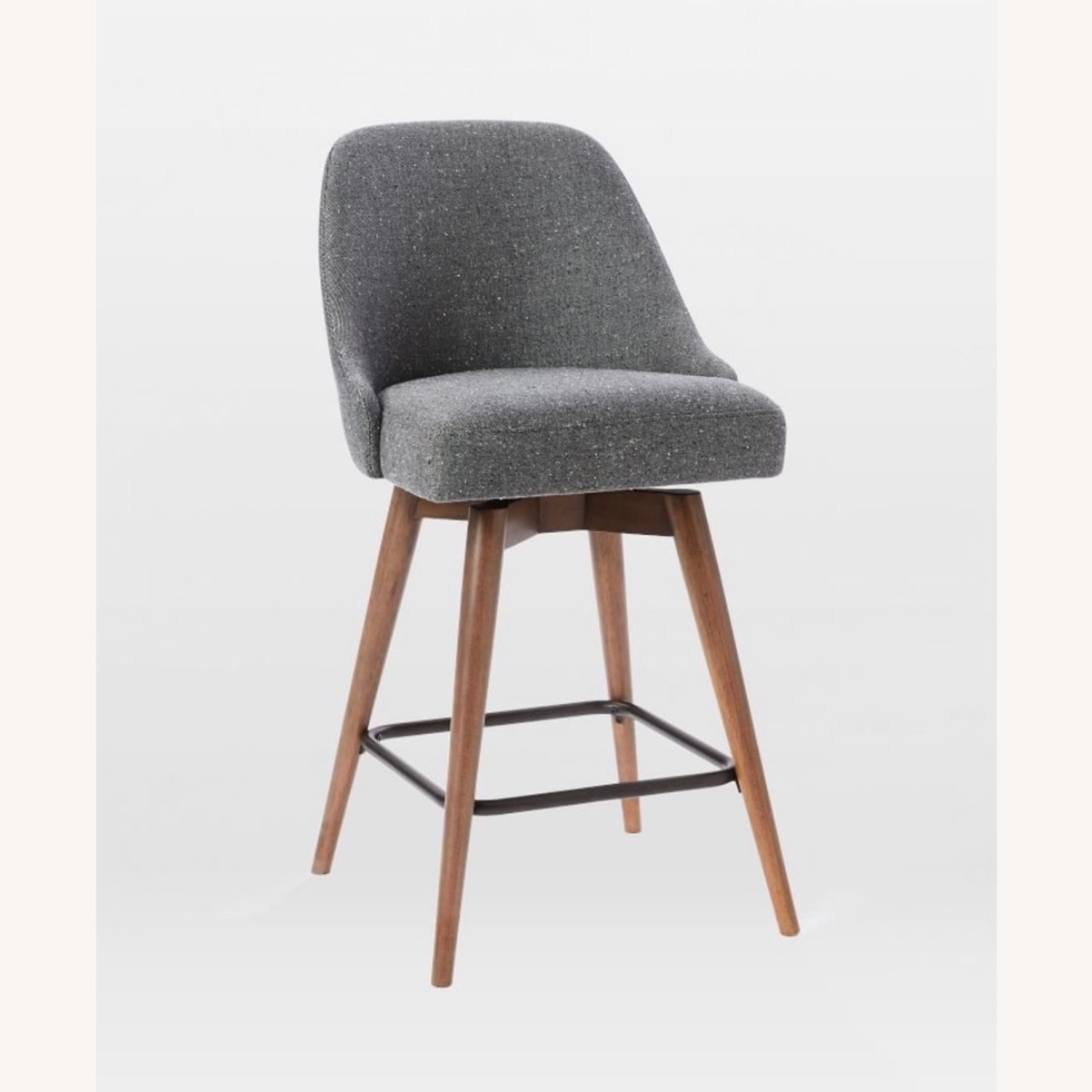 West Elm Upholstered Counter Stools - image-1