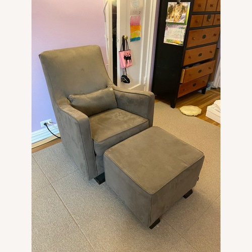 Used Monte Luca Glider with Ottoman for sale on AptDeco