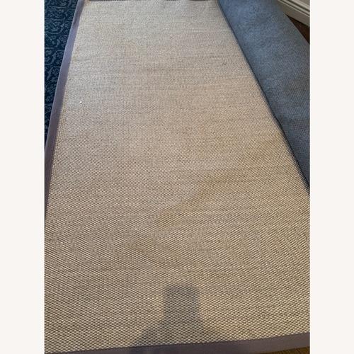 Used nuLOOM Grey Sisal Rug for sale on AptDeco