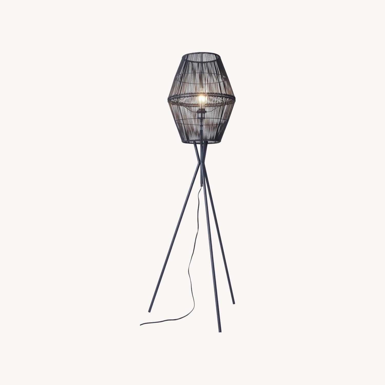 Zuo Modern Furniture Modern Black Floor Lamp - image-0