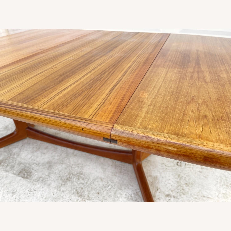 Vintage Modern Teak Dining Table - image-10