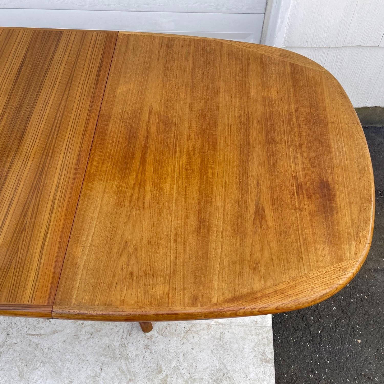 Vintage Modern Teak Dining Table - image-5