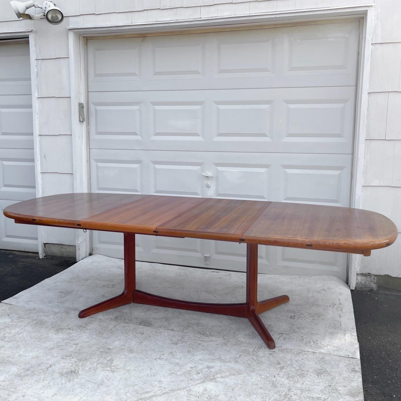 Vintage Modern Teak Dining Table - image-2