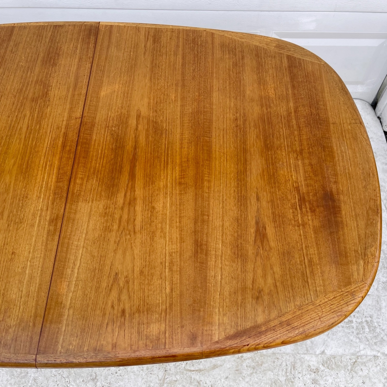 Vintage Modern Teak Dining Table - image-13