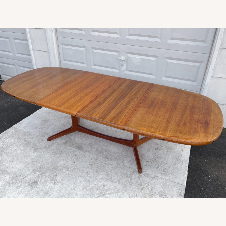 Vintage Modern Teak Dining Table - image-11