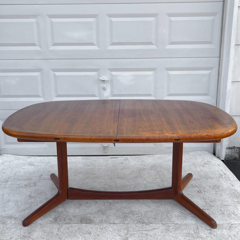 Vintage Modern Teak Dining Table - image-0
