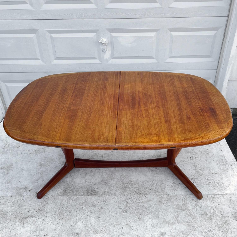 Vintage Modern Teak Dining Table - image-6