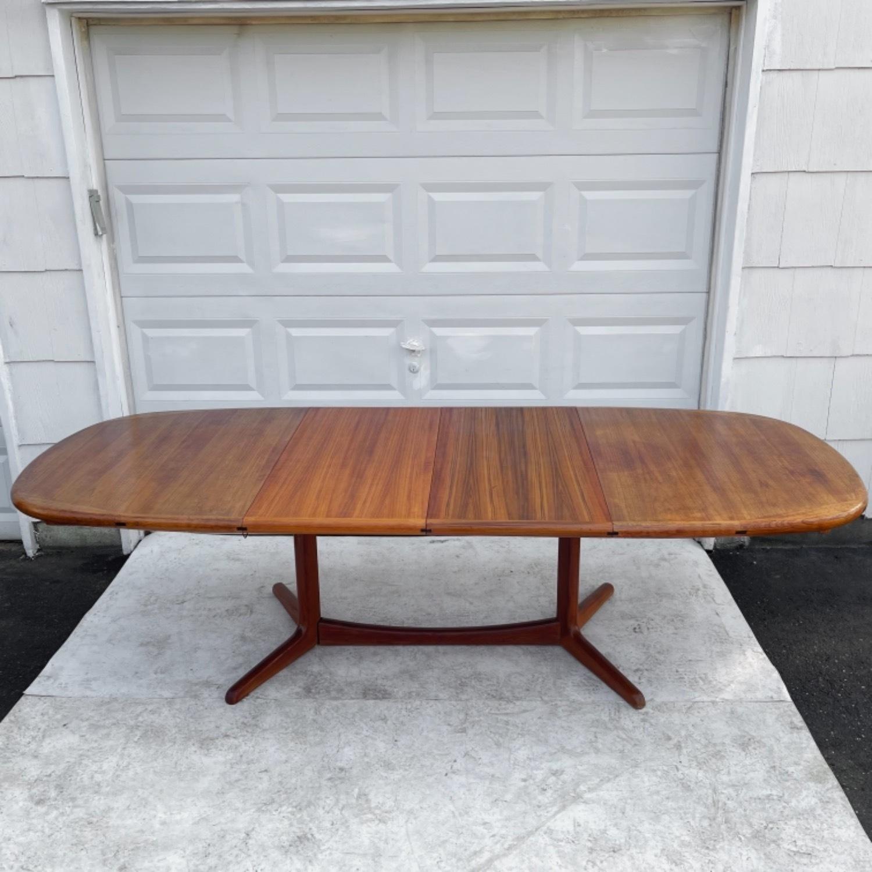 Vintage Modern Teak Dining Table - image-1
