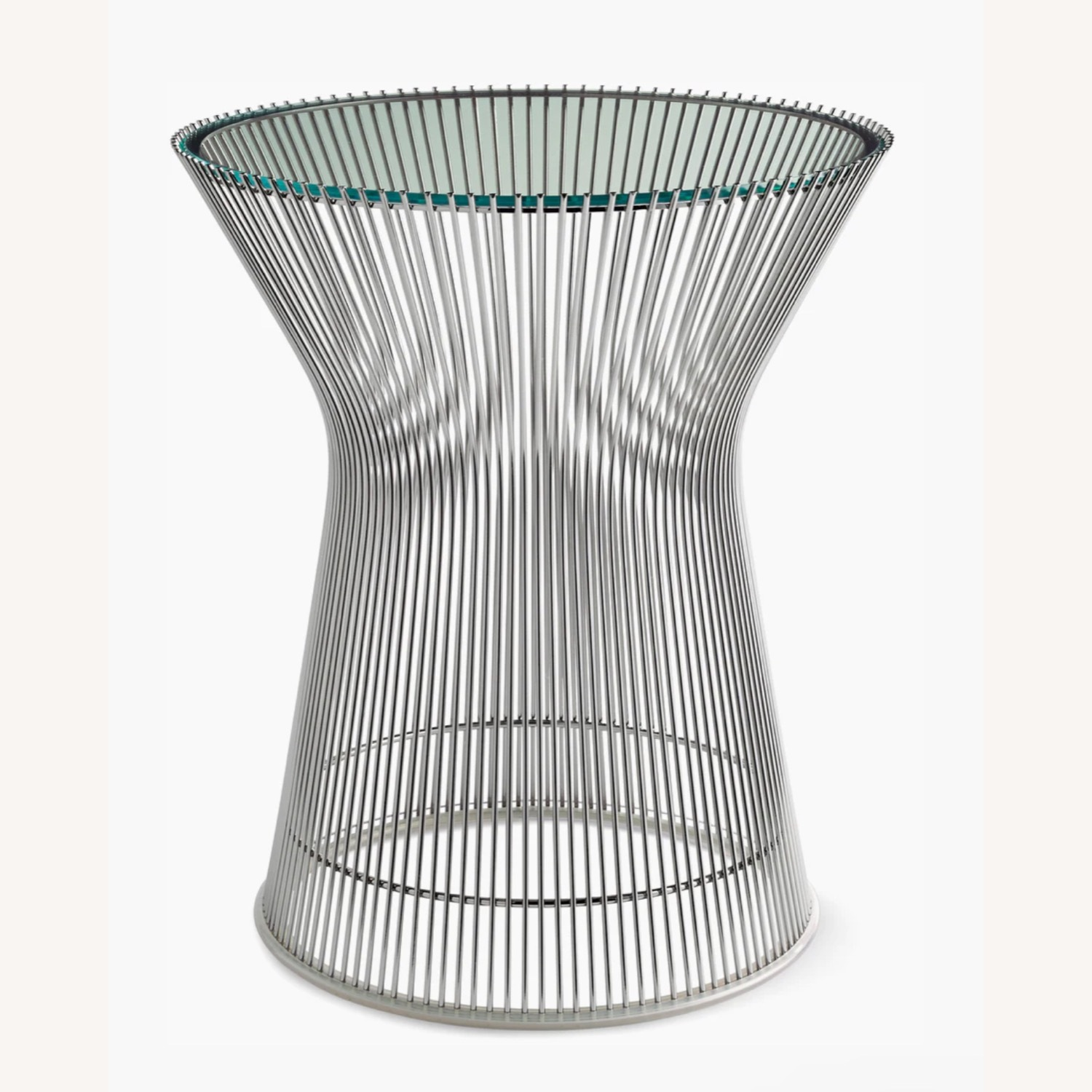 Design Within Reach Glass Side Table - image-3