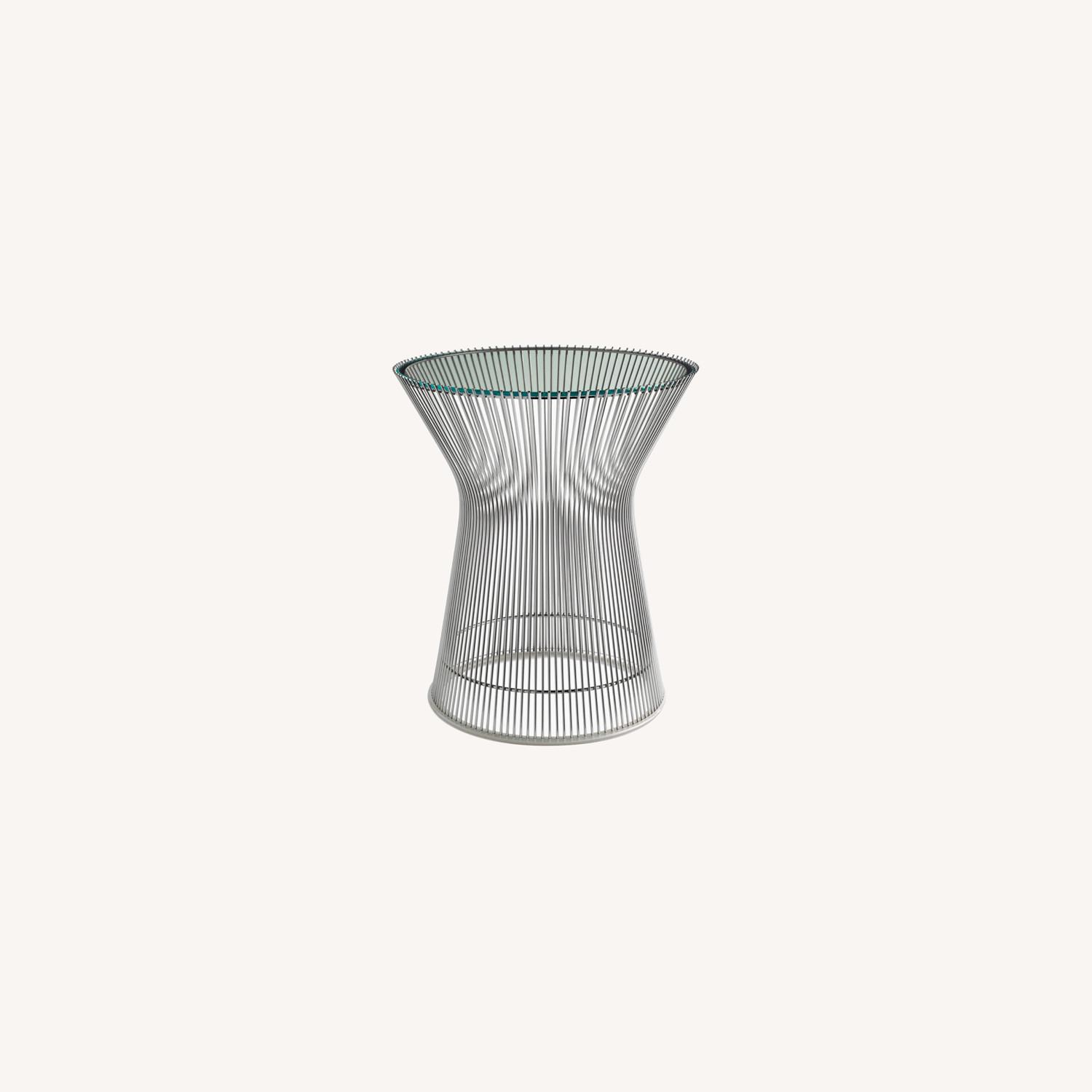 Design Within Reach Glass Side Table - image-0