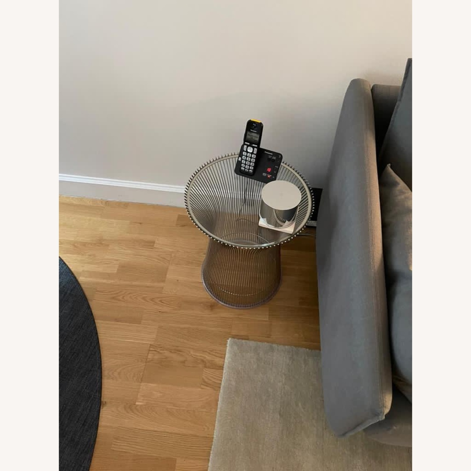 Design Within Reach Glass Side Table - image-1