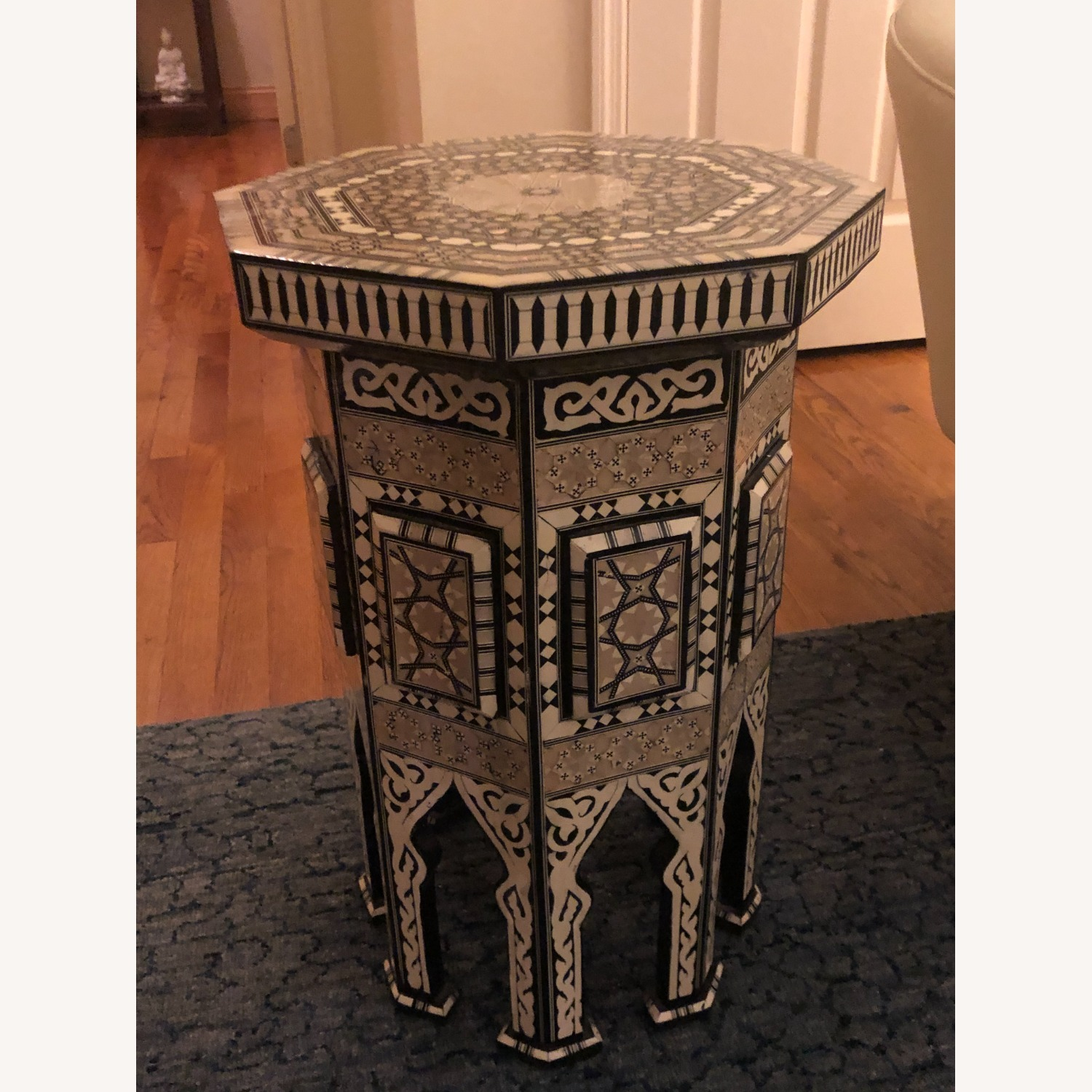 """Horchow Black """"Moroccan"""" Table - image-2"""