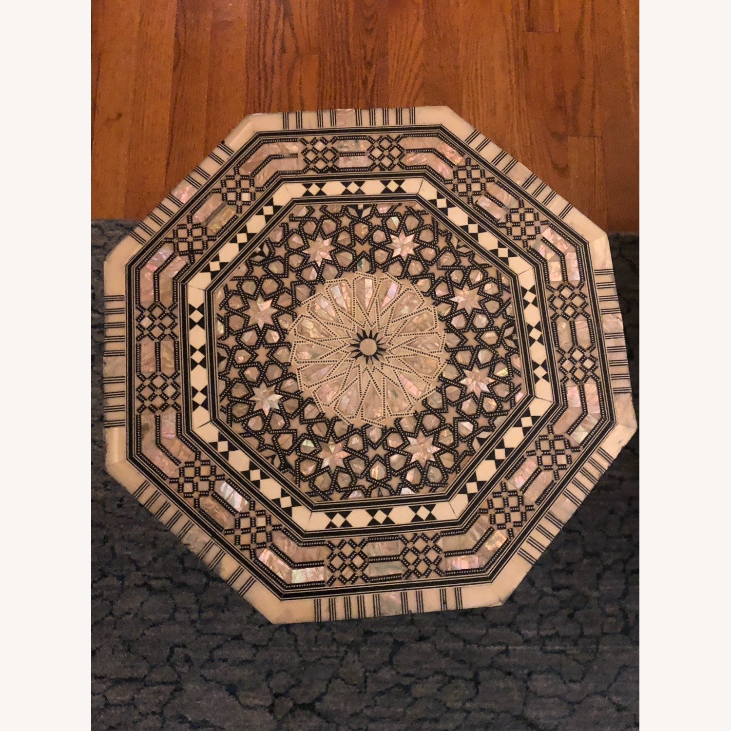 """Horchow Black """"Moroccan"""" Table - image-3"""