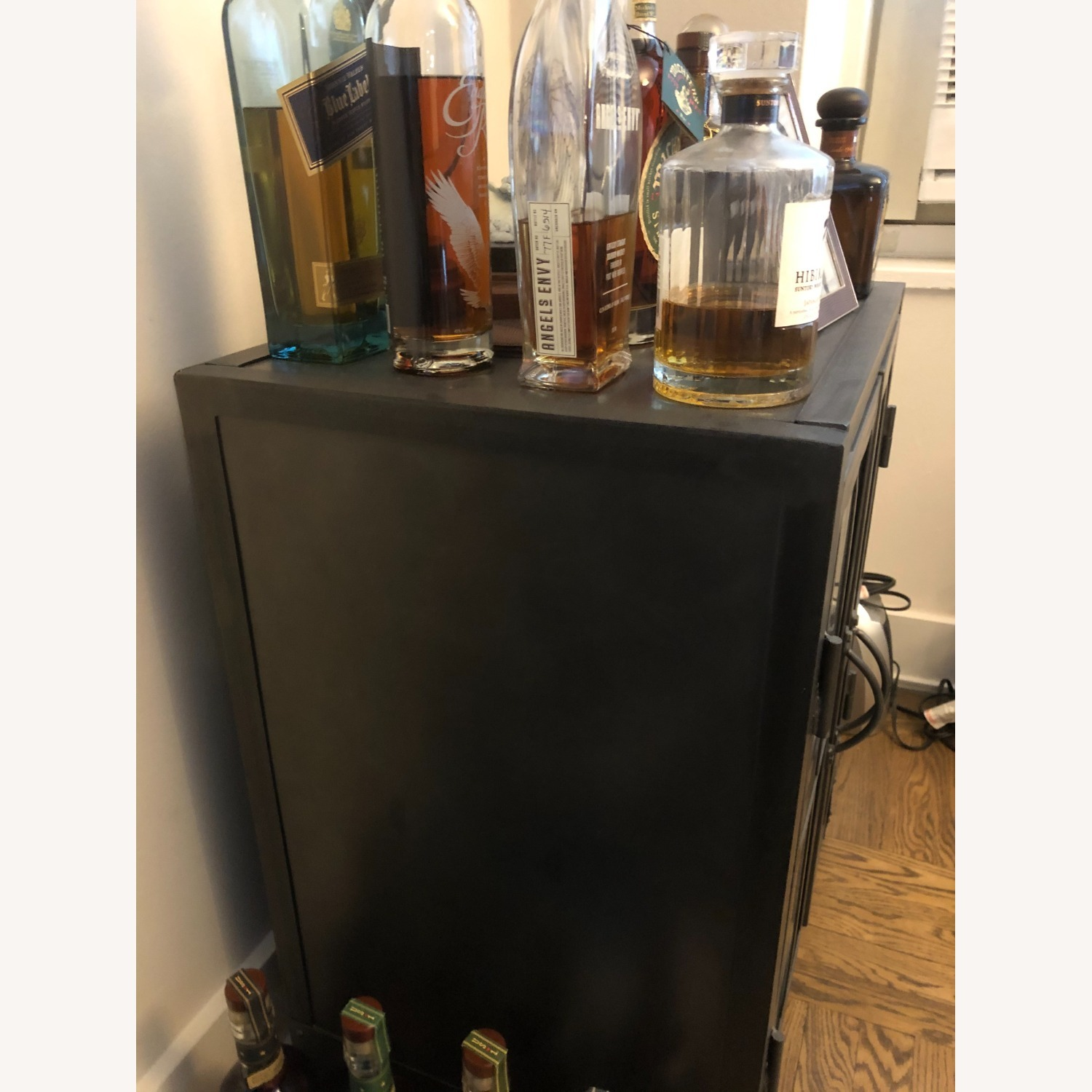 World Market Bar Cart / Cabinet - image-2