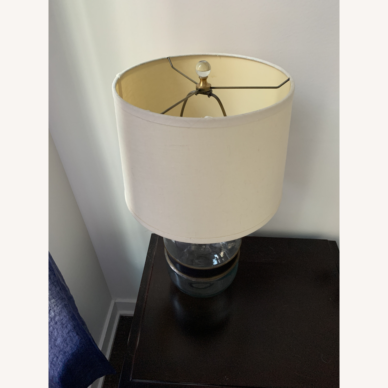 Restoration Hardware Glass Lamp - image-3