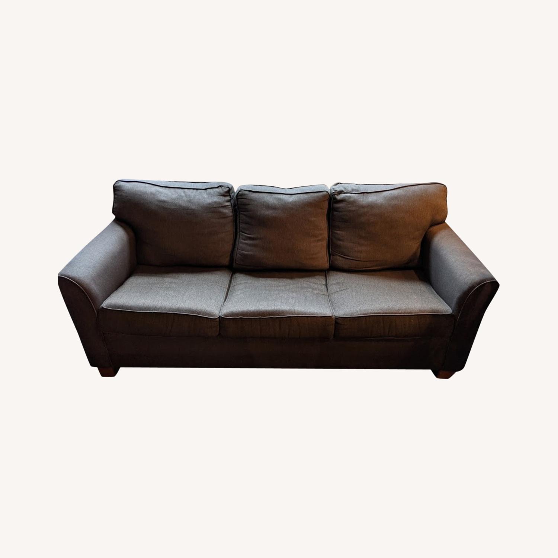 Brown Sleeper Sofa - image-0