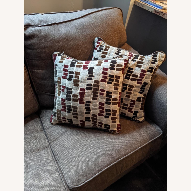 Brown Sleeper Sofa - image-5