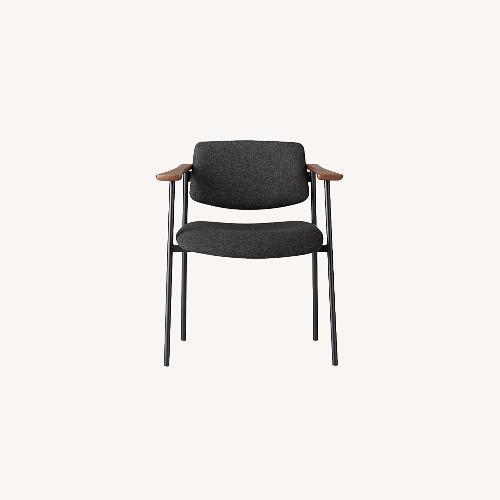 Used CB2 Warren Grey Chair for sale on AptDeco