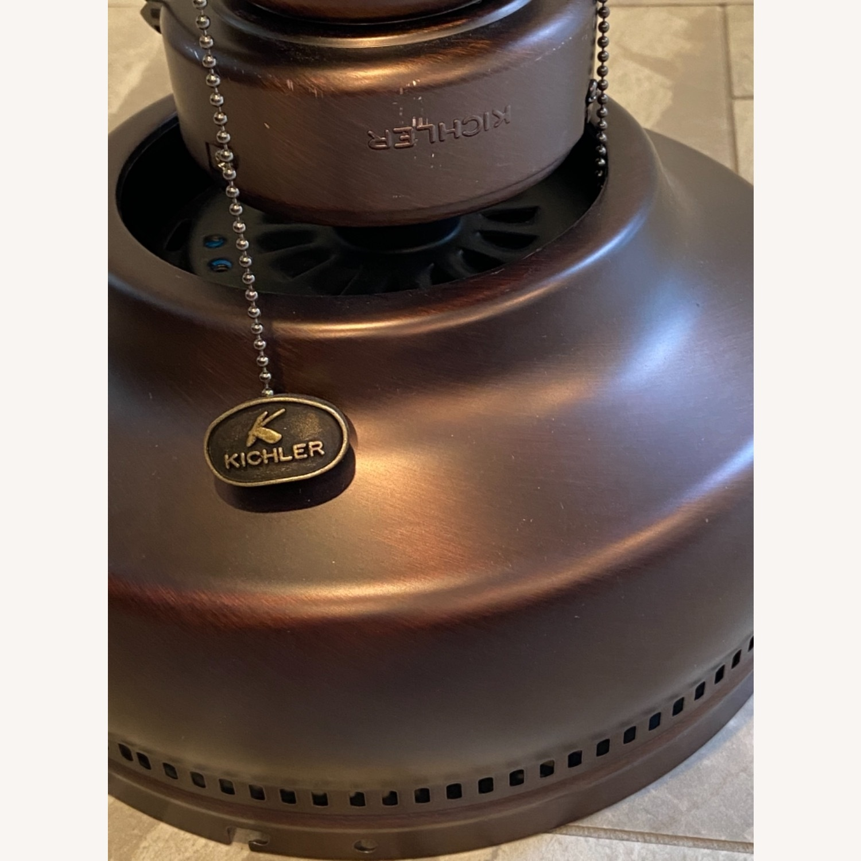 "Kichler Ceiling Fan with Lights 52"" Flush Mount - image-12"