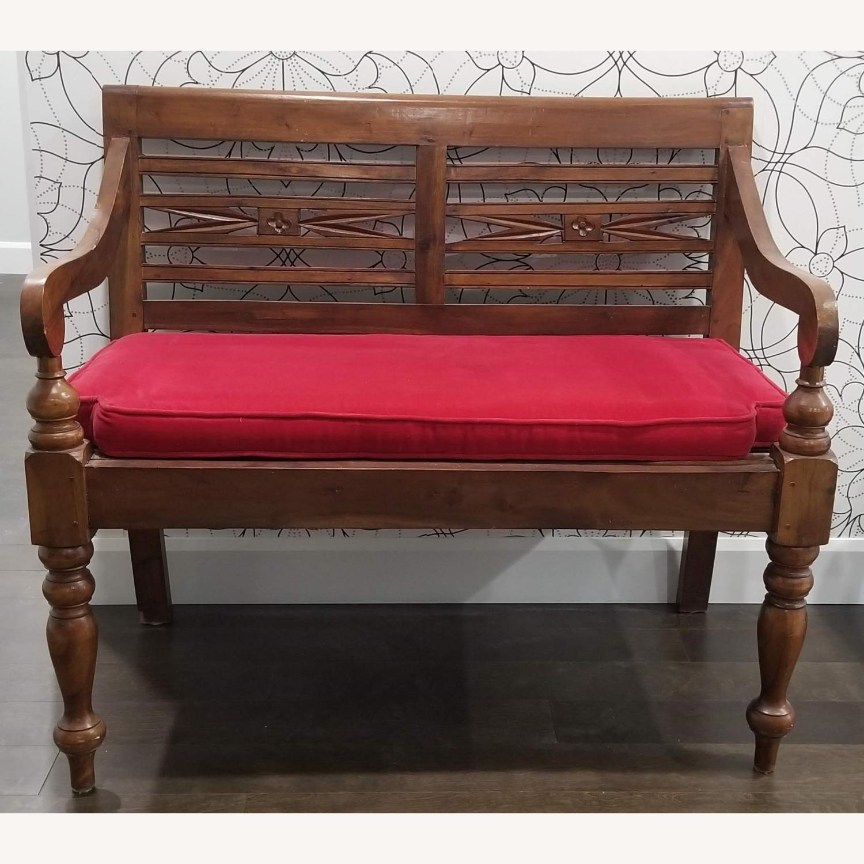 Real Wood Bench - image-7