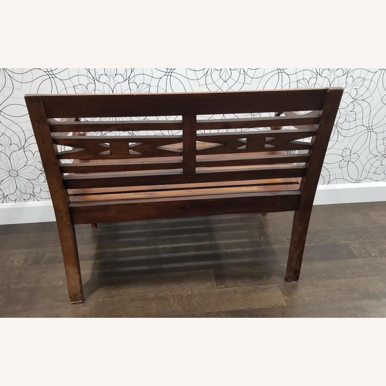 Real Wood Bench - image-4