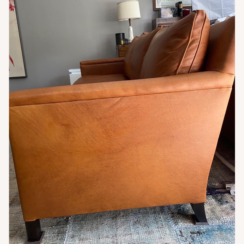 ABC Carpet and Home 3-SEAT Leather Sofa - image-3