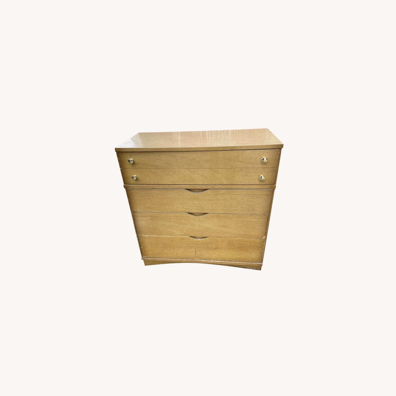 Bassett Furniture Mid Century 1950s Dresser - image-0