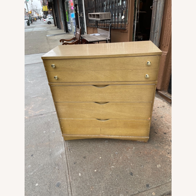 Bassett Furniture Mid Century 1950s Dresser - image-2