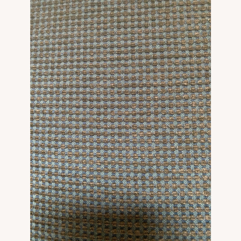 Boerner Moss Green/pale Blue Corduroy Velvet - image-7