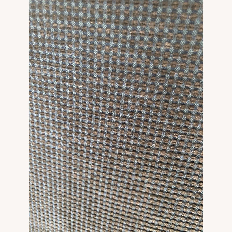 Boerner Moss Green/pale Blue Corduroy Velvet - image-4