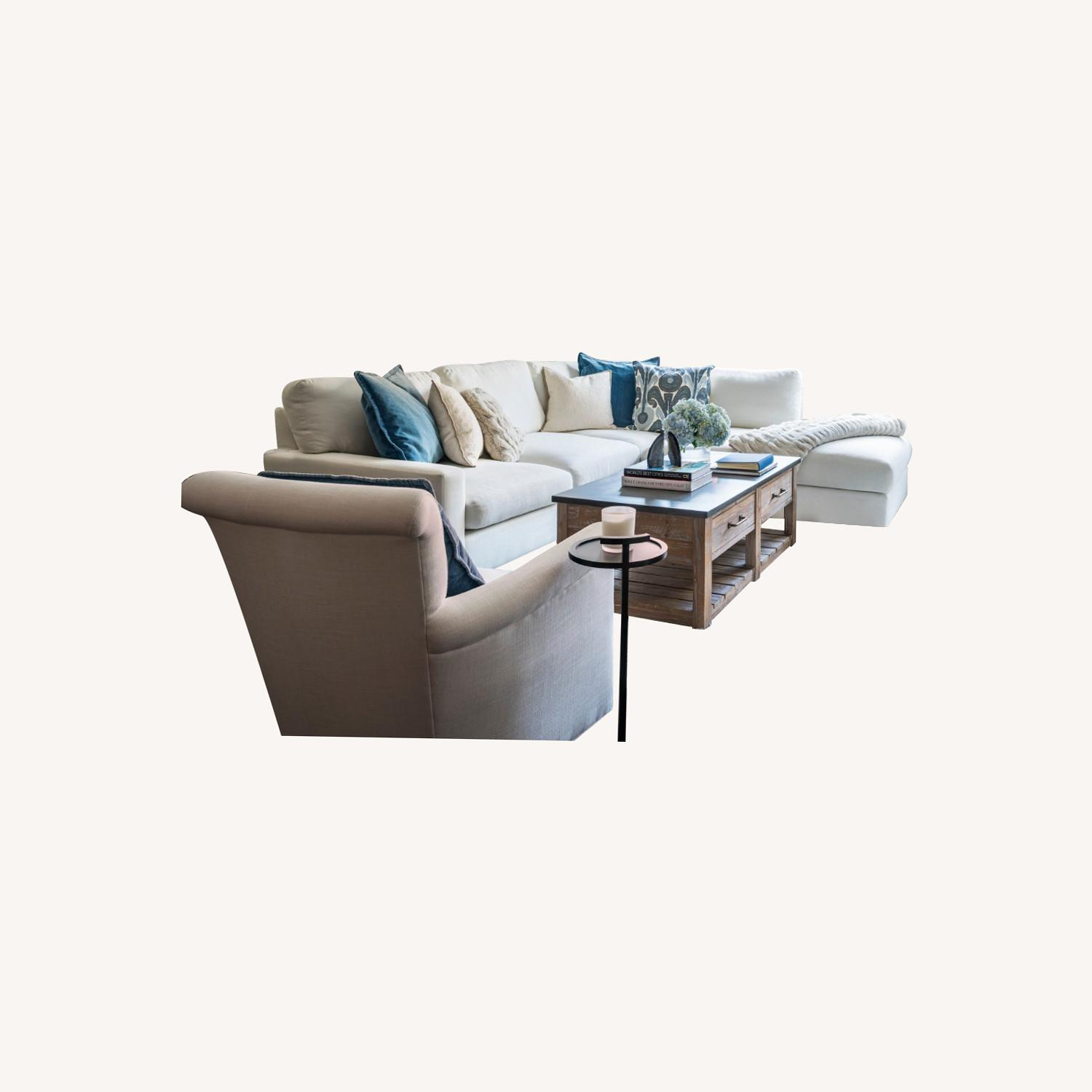 Pottery Barn Couch - image-0