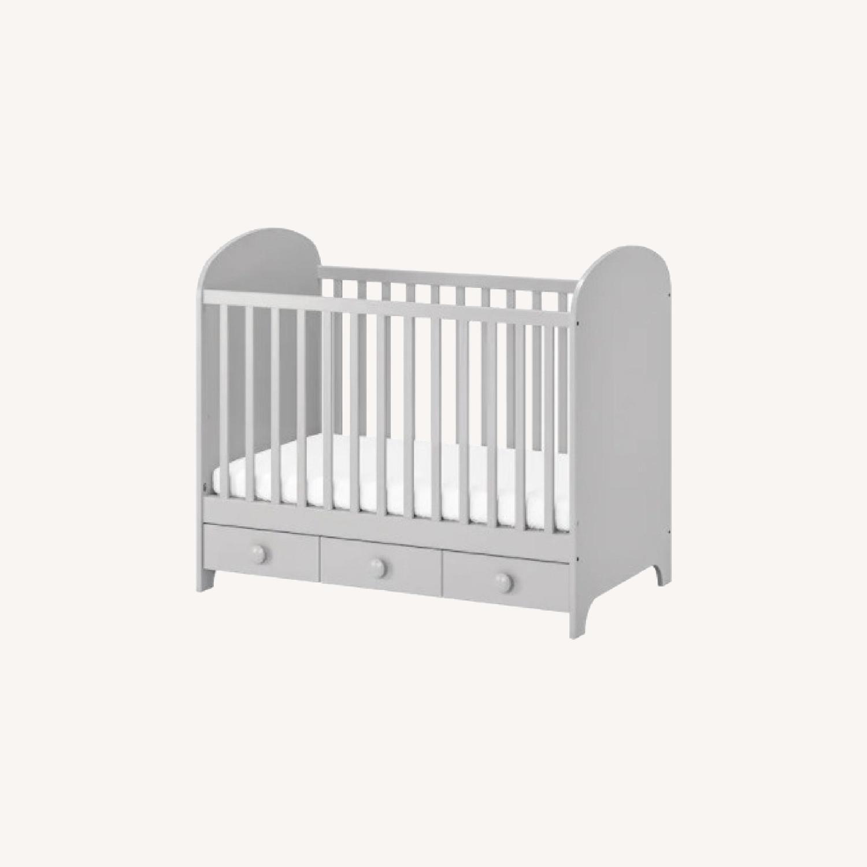 IKEA 2 in 1 Convertible Crib - image-0