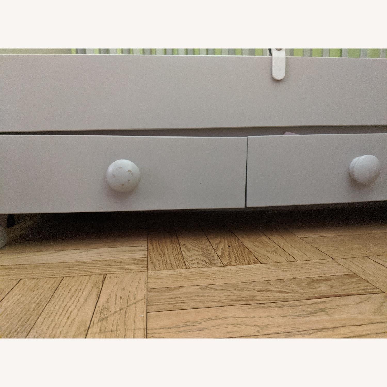 IKEA 2 in 1 Convertible Crib - image-3