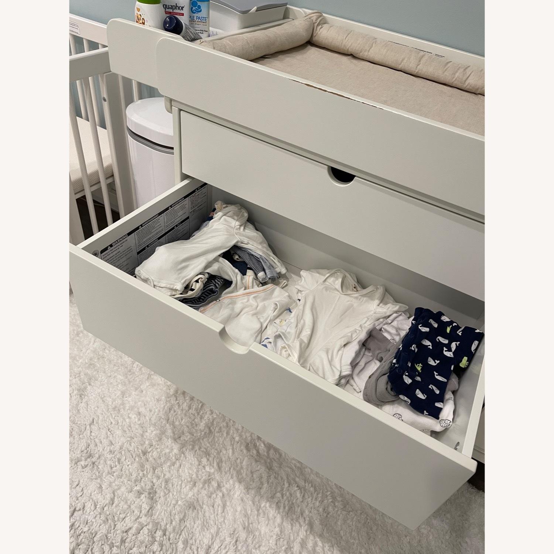 Stokke Child's Nursery Dresser & Changing Table - image-3