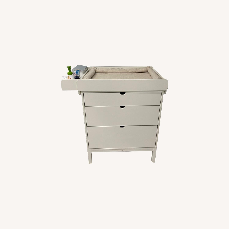 Stokke Child's Nursery Dresser & Changing Table - image-0