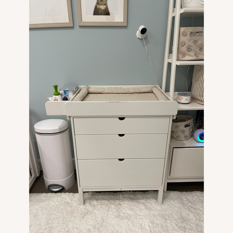 Stokke Child's Nursery Dresser & Changing Table - image-1